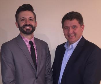 Matt Harney and OOA President Sean Stiltner DO